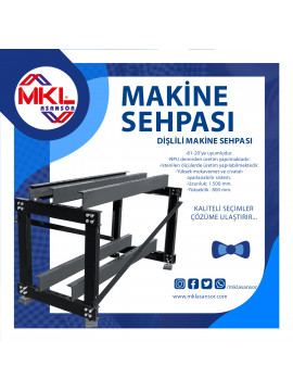 Machine Stand With Gear